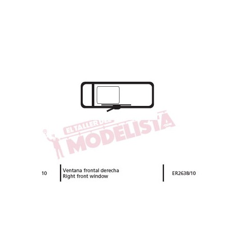 Right front window for 269. ER2638/10