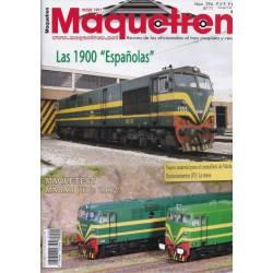 Revista Maquetren, nº 294. Agosto 2017