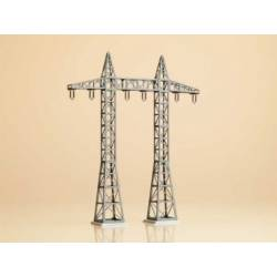 2 high tension masts.