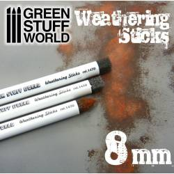 Weathering brushes, 8 mm. GREEN STUFF 368105