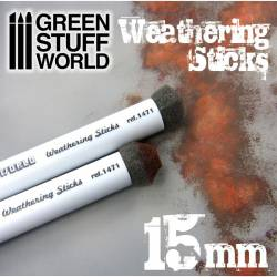 Weathering brushes, 15 mm. GREEN STUFF WORLD 9312