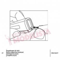 Bolsa de enganches para AVE S-103. ARNOLD HN2142/27