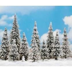 Nieve en polvo para maquetas.