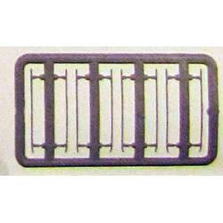 Pasamanos laterales verdes, para 269. ER6954/01A