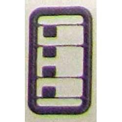 Espejos retrovisores verdes (x4), para 269. ER6954/01D