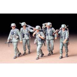 "German Machine Gun Crew - ""On Maneuver""."