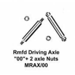 Eje para ruedas motrices, 1/8''. MARKITS MRAX/00-pss