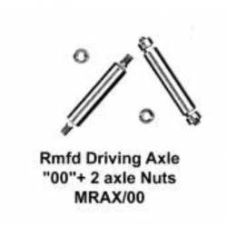 Stainless steel driving axle, 1/8''. MARKITS MRAX/00-pss
