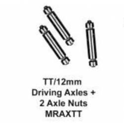 Eje para ruedas motrices, 1/8''. MARKITS MRAX/TT