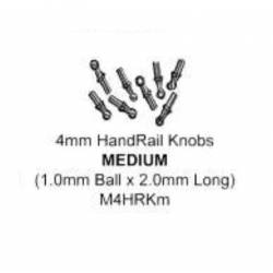 Handrail knobs, 2 mm (x12). MARKITS M4HRKM