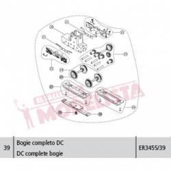 DC complete bogie, Civia. ER3455/39