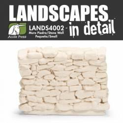 Muro de piedra pequeño. LANDSCAPES 4002