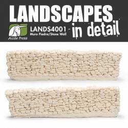 Muro de piedra. LANDSCAPES 4001
