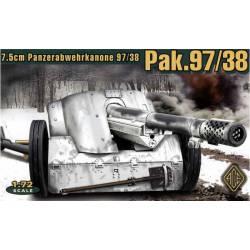 Cañón antitanque alemán de 7,5 cm PaK 97/38.
