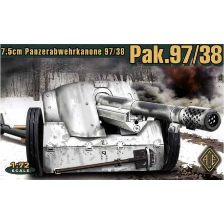 Cañón antitanque alemán de 7,5 cm PaK 97/38. ACE 72223