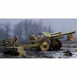 Soviet 122mm Howitzer 1938 M-30, early version. TRUMPETER 02343