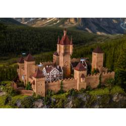 Castle of the Middle Ages with LED. VOLLMER 49910