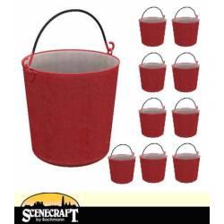 Fire buckets. SCENECRAFT 44-524