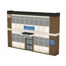 Fachada de edificio, oficina. SCENECRAFT 44-259