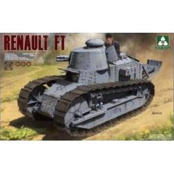 French light tank Renault FT-17. TAKOM 1004