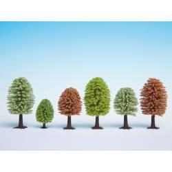 10 spring trees.