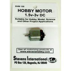 Motor eléctrico DC (1.5-3V). STEVENS SVM130