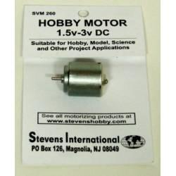 Motor eléctrico DC (1.5-3V). STEVENS SVM260
