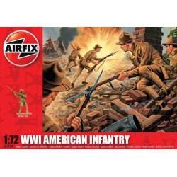 WWII American Infantry. AIRFIX A01729