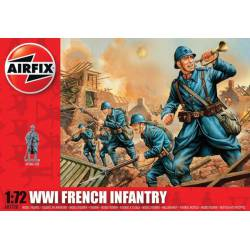 WWII French Infantry. AIRFIX A01728