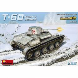 T-60, version inicial con interiores. MINIART 35215