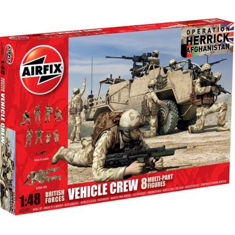 British vehicle crew, Operation Herrick. AIRFIX 03702