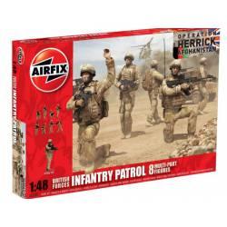 Infantería británica, Operación Herrick. AIRFIX 03701