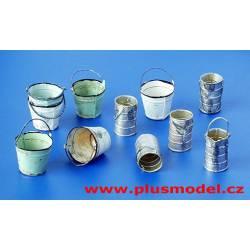 Calderos y latas. PLUS MODEL 152