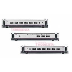 Set de coches para AVE S-100, RENFE. ELECTROTREN 3520