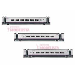 AVE S-100 coaches set, RENFE. ELECTROTREN 3521