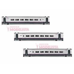 Set de coches para AVE S-100, RENFE. ELECTROTREN 3521