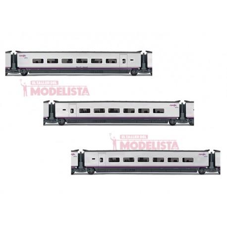 AVE S-100 coaches set, RENFE. ELECTROTREN 3521