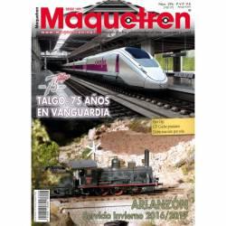Revista Maquetren, nº 296. Octubre 2017