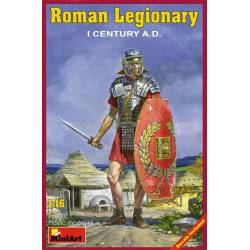 Legionario romano. Siglo I.