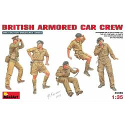British armoured car crew.