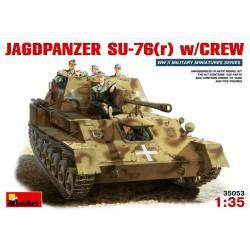 Jadpanzer SU-76(r) w/ crew.