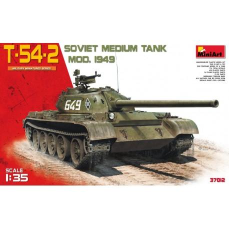 T-54-2 (Mod. 1949). MINIART 37012