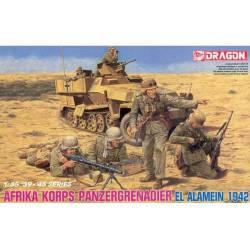 Panzergranaderos, El Alamein.