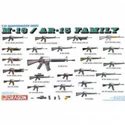M-16/AR-15 Family. DRAGON 3801