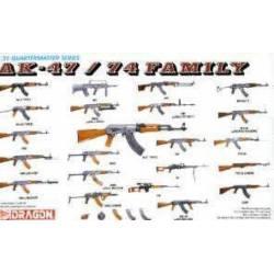 AK-47/74 Family. DRAGON 3802