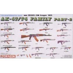 AK-47/74 Family. DRAGON 3805