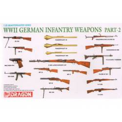 WWII German infantry weapons. DRAGON 3816