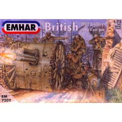 British WWI Artillery. EMHAR 7202