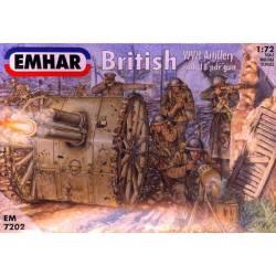 British WWI Artillery.