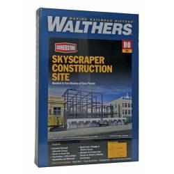 Edificio en construcción. WALTHERS 933-3761